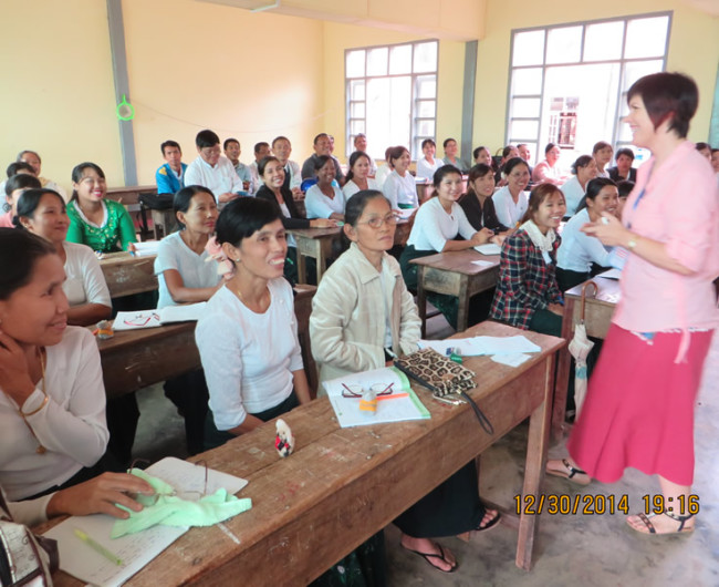 Teacher Training - Teaching how to teach English.