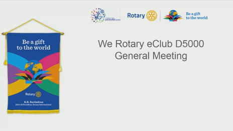 We Rotary - Best Online Rotary Club for Makeup Meetings!